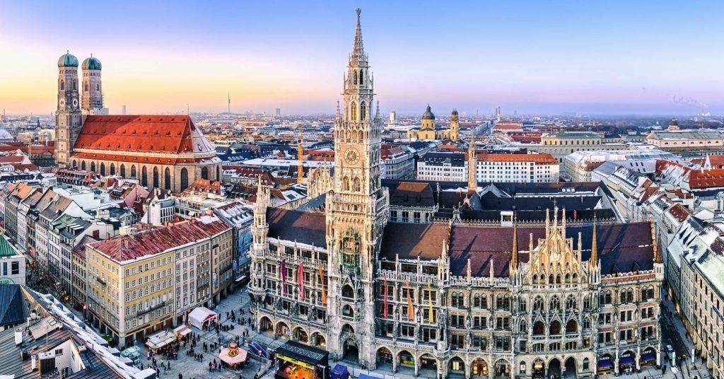 München - Blick von Oben