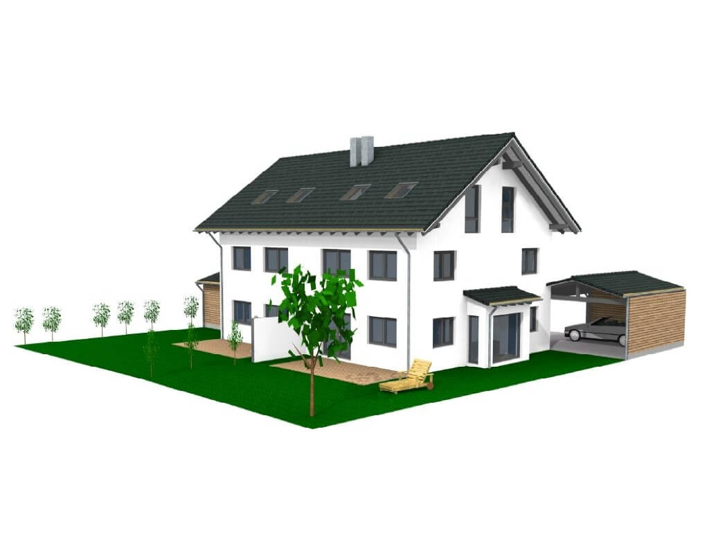 Doppelhaushälfte Landsham