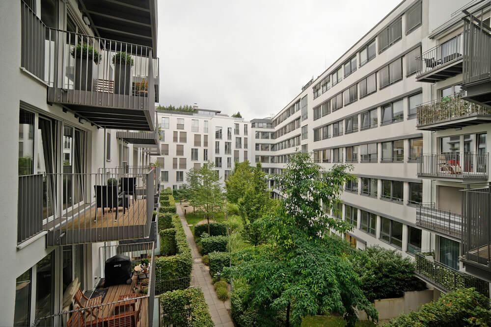 Eigentumswohnung in München Nymphenburger Höfe
